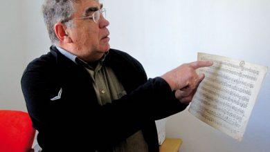 Photo of Uralte handgeschriebene Liednoten kamen ans Tageslicht