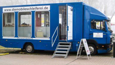 Photo of Schleifmobil ab dem 4. August in Füssen