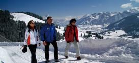 Winterwandern im Tannheimer Tal in Tirol