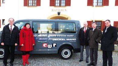 Photo of Neuer Vereinsbus für Pfronten