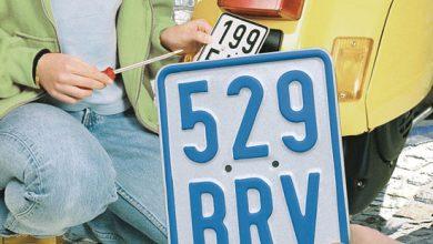 Photo of Freie Fahrt nur mit blauen Kennzeichen
