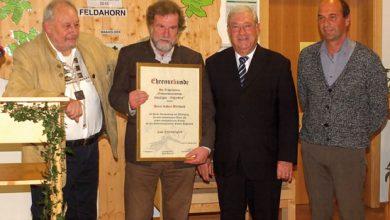 Photo of Mitgliederehrung im Walderlebniszentrum Füssen