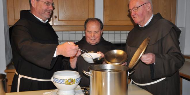 Fastenzeit im Franziskanerkloster in Füssen