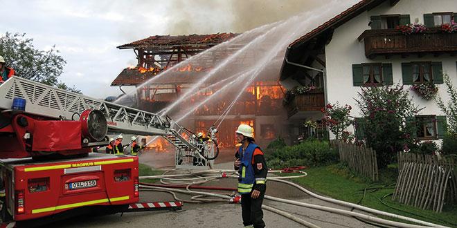 20 Jahre Feuerwehrhaus Füssen in der Florianstraße