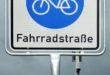 Erste Fahrradstraße in Füssen