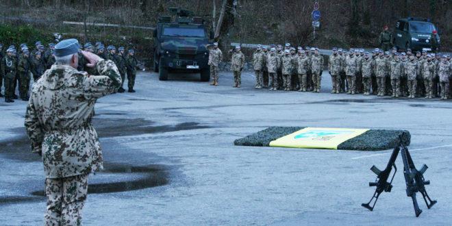 200 Soldaten aus Füssen sind auf dem Weg nach Mali