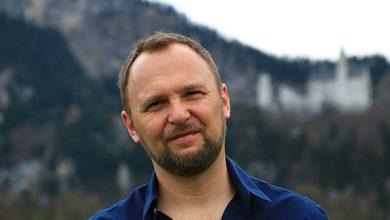 """Photo of Autor Markus Richter zu Gast auf der """"Blauen Couch"""" im BR"""