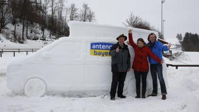 Photo of Schnee-Bulli in Rieden kündigt Radio-Überraschung an