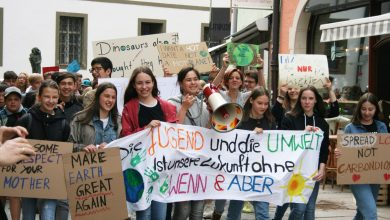 "Photo of ""Fridays for Future"" in Füssen:  Beteiligung liegt über den Erwartungen"