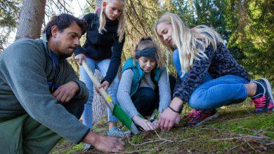 Photo of Füssener Realschüler pflanzen 500 Bäume am Wiesenbühl