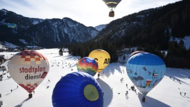 Bild von 25. Internationales Ballonfestival Tannheimer Tal