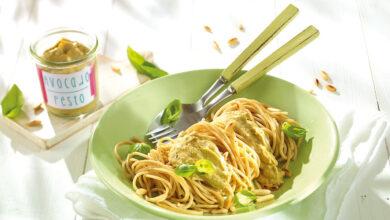 Bild von Rezept: Spaghetti mit Avocado-Pesto