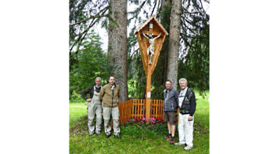 "Photo of Das ""neue"" Koppenkreuz in Rieden am Forggensee"
