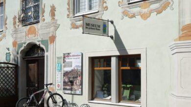 Bild von Museum wegen Umbau geschlossen