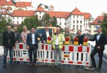 Bild von Füssener Theresienbrücke wieder geöffnet