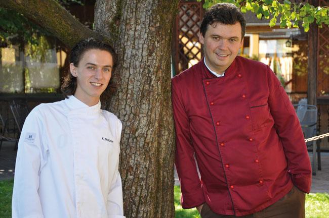 Photo of Ein ungleich gleiches Paar : Alexander Pohler und Kevin Matzner
