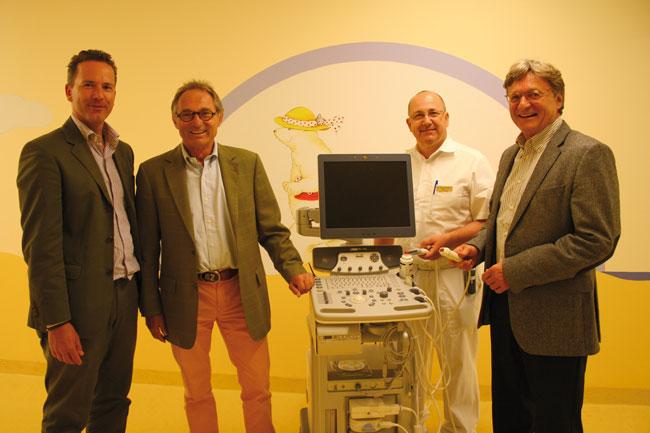 Photo of Kinderkrebshilfe Königswinkel finanziert Ultraschallgerät für Neugeborene